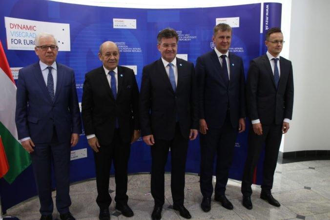 Ministri zahraničných vecí V4 rokovali o eurovoľbách, témou bola aj spolupráca Maďarska a USA