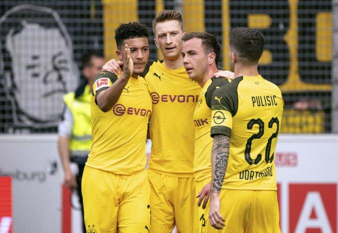 Dortmund s jednoznačným triumfom, Hertha po piatich prehrách bodovala