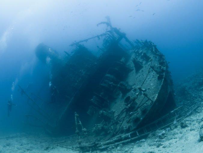 Našli vrak lode z druhej svetovej vojny, po zásahu japonského torpéda sa do minúty potopila