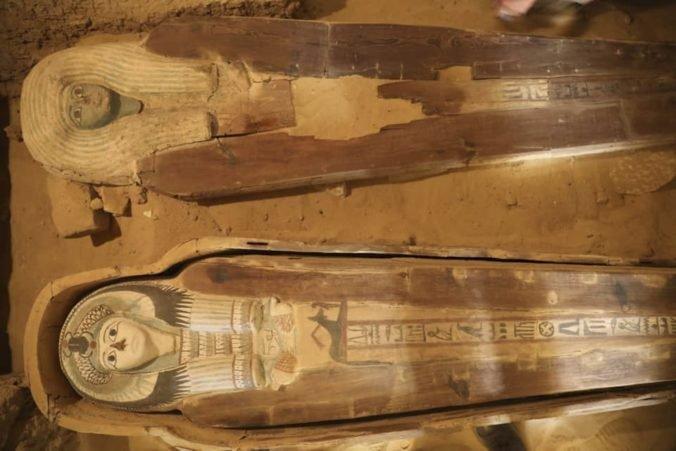 Neďaleko pyramíd v egyptskej Gíze objavili archeológovia cintorín