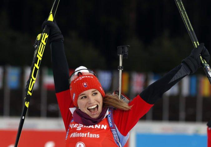 Biatlonistka Paulína Fialková bola vyhlásená za Slovenku roka v kategórii šport