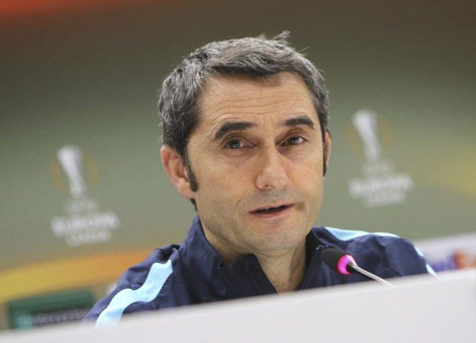 Valverde sa dočkal piskotu od fanúšikov, o rezignácii na post trénera FC Barcelona neuvažuje