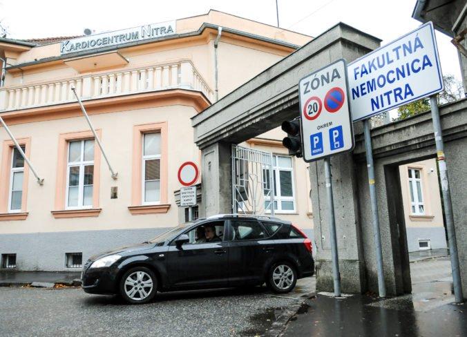 Fakultná nemocnica v Nitre očakáva peniaze od štátu, za rekreačné poukazy zaplatí státisíce eur