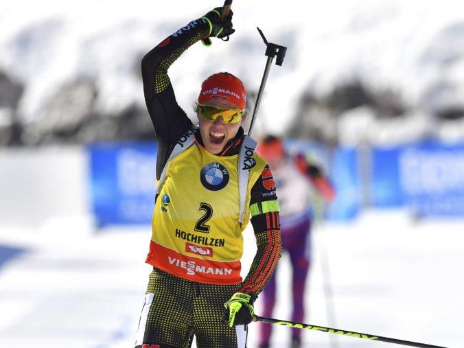 Dahlmeierová sa rozhodla ukončiť profesionálnu kariéru, olympijská šampiónka už nemá biatlonový sen