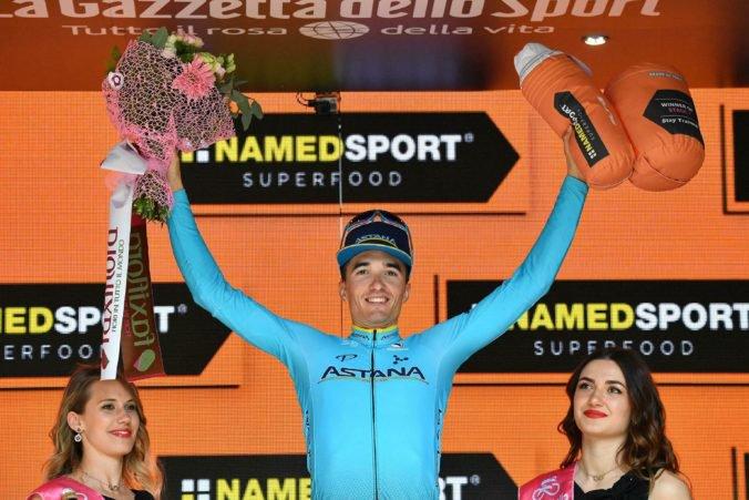 Video: Španiel Pello Bilbao zvládol záverečné stúpanie a vyhral siedmu etapu na Giro d'Italia