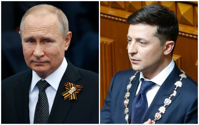 Putin chce lepšie vzťahy s Ukrajinou, ale blahoželanie k inaugurácii Zelenského neplánuje poslať