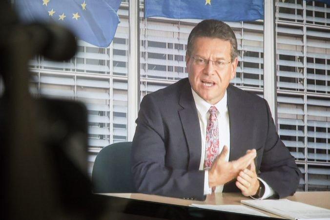 Šefčovič bude zastupovať Európsku úniu na inaugurácii prezidenta Ukrajiny, bude s ním aj rokovať