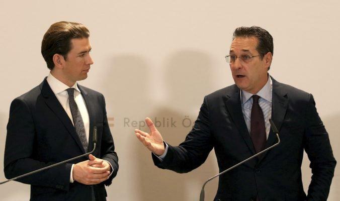 Rakúsku vládu po Stracheho škandále opustili všetci ministri za FPÖ