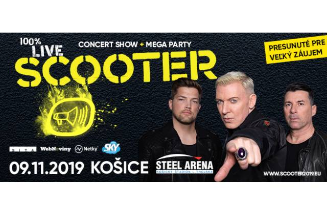 Scooter sa vracia na Slovensko. V novembri predvedie naživo svoju veľkolepú svetelnú a pyrotechnickú show v Košiciach