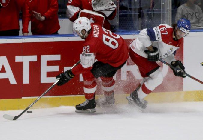 Video: Česko na MS v hokeji 2019 tesne zdolalo Švajčiarsko, rozhodol gól do prázdnej bránky