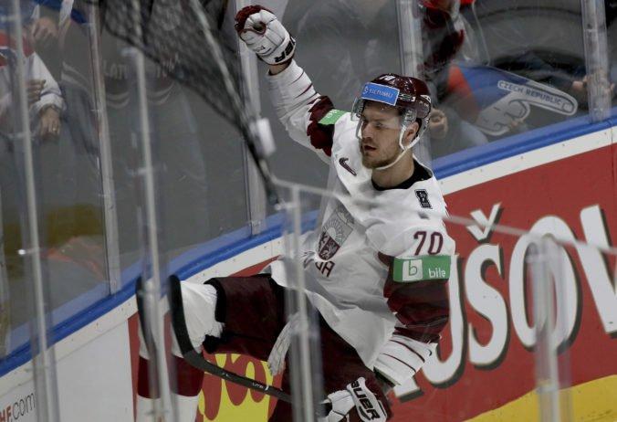 Video: Lotyšsko sa s MS v hokeji rozlúčilo víťazne, proti Nórom otočilo v tretej tretine