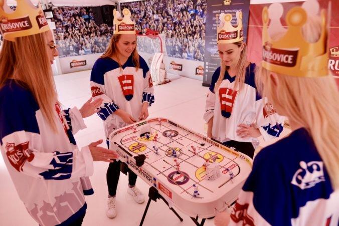 Krušovice bavia fanúšikov v hokejových fanzónach kráľovsky