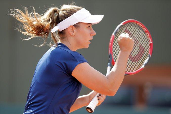 """Kučová uštedrila Češke """"kanára"""" a postúpila do 2. kola kvalifikácie na Roland Garros"""