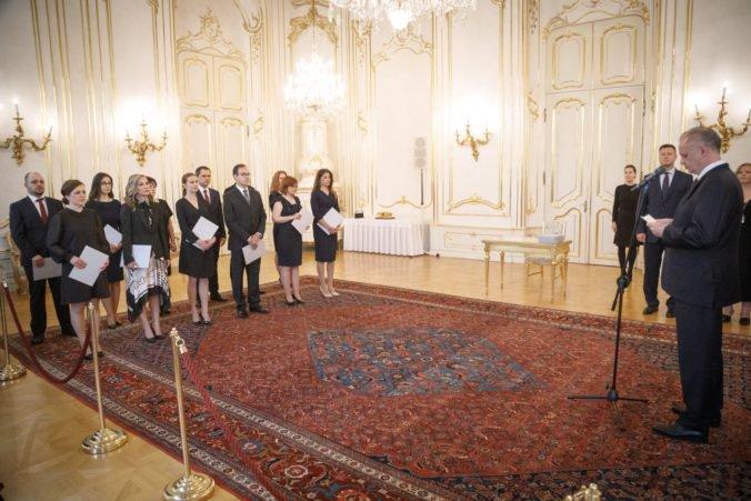 Prezident Kiska vymenoval nových sudcov, budú pridelení na okresné súdy po celom Slovensku
