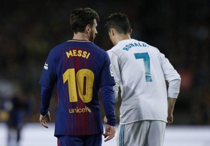 Cristiano Ronaldo nás oboch posúva na vyššiu úroveň, priznal Lionel Messi