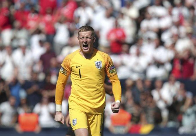Video: Anglicko má bronz v Lige národov, hrdinom v rozstrele bol brankár Pickford