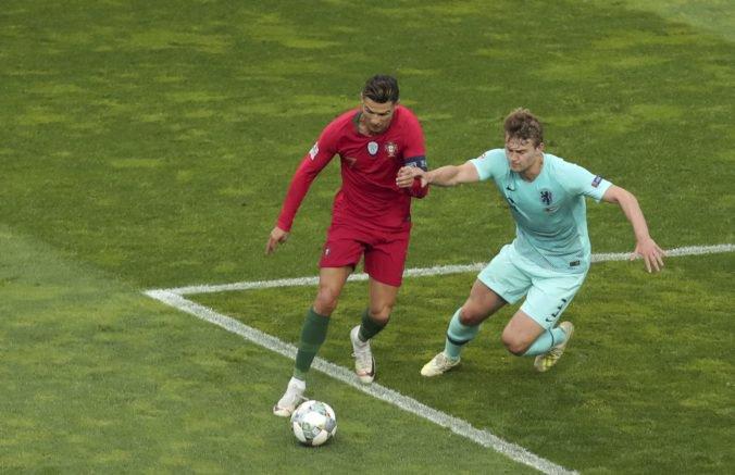 Video: Liga národov pozná víťaza, Portugalsko vo finále zdolalo Holandsko