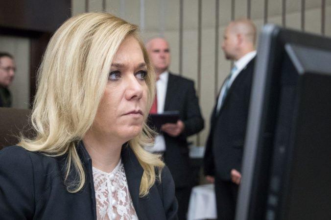 Ministerka vnútra Saková podporuje návrh, aby učitelia predkladali odpis z registra trestov