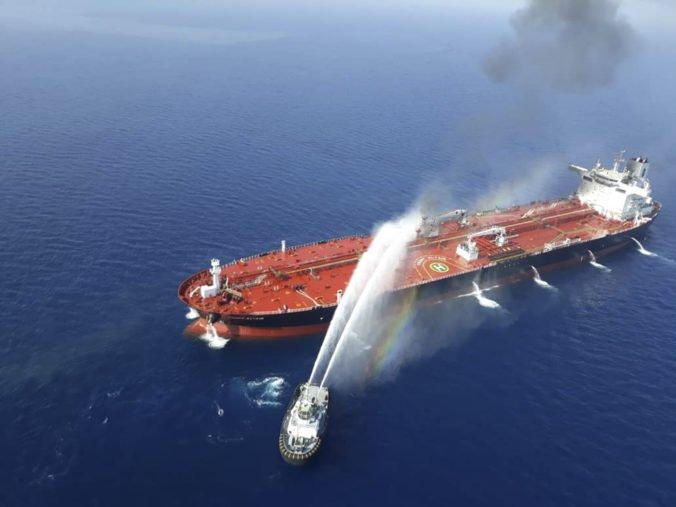 Irán odstránil nevybuchnuté nálože z tankera, na ktorý zaútočili v Ománskom zálive