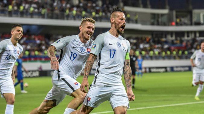 Slovensko si v rebríčku FIFA polepšilo o jednu priečku, lídrom je Belgicko s 1746 bodmi