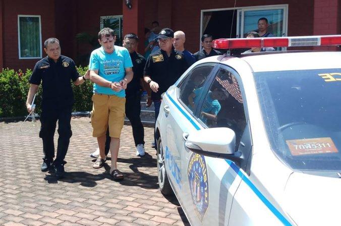 Foto: Zadržali muža na úteku, ktorý sa vydával za Georgea Clooneyho