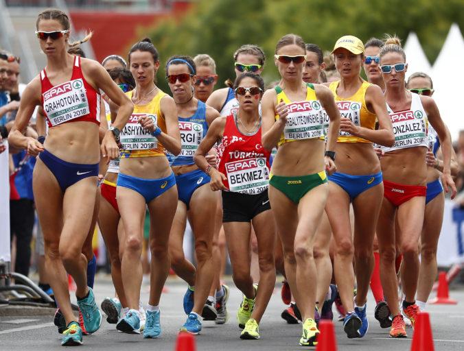 Ruská chodkyňa Klavdija Afanasievová prekonala svetový rekord, jej výkon však neuznajú