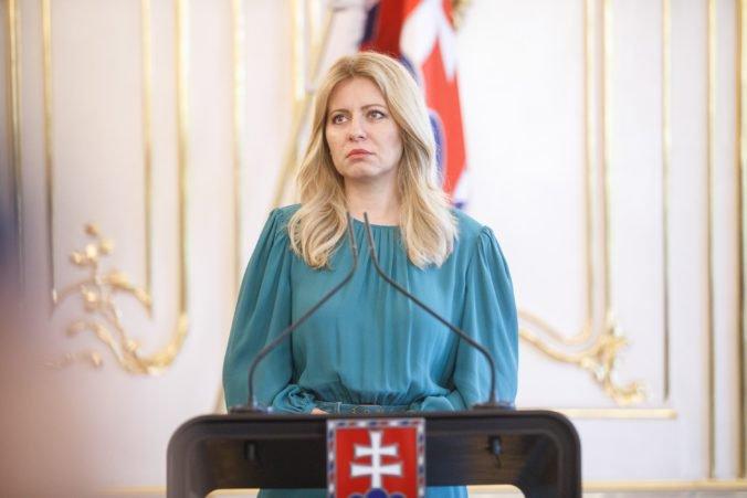 Prezidentka Čaputová dodrží tradíciu, jej prvá zahraničná cesta smeruje do Česka
