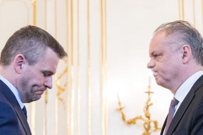 Pellegrini sa nečuduje, že Kiskovi je bližší Kollár známy kontaktmi na bossov podsvetia