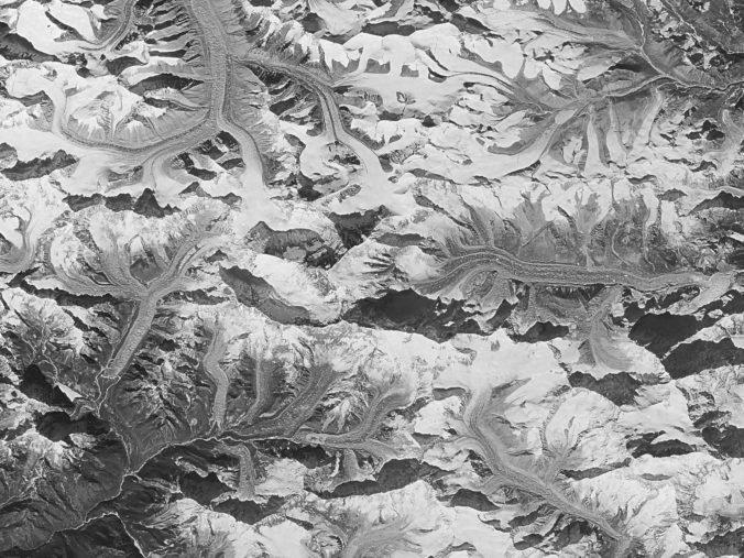 Špionážne fotografie zo studenej vojny odhalili dramatický úbytok ľadovcov v Himalájach