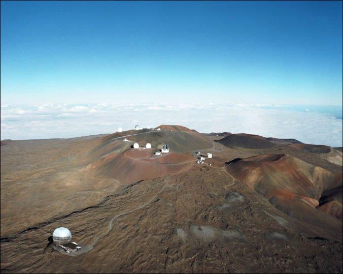 Foto: Na sopke Mauna Kea postavia kontroverzný teleskop, mnohí ľudia považujú vrch za posvätný