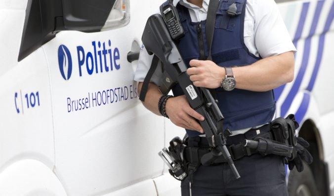 Muž plánoval teroristický útok na veľvyslanectvo USA v Bruseli, skončil v rukách polície
