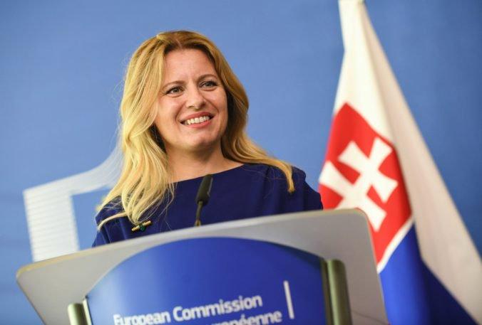 Čaputová v Bruseli podporila voľbu zo zahraničia, dôležitou je aj otázka životného prostredia