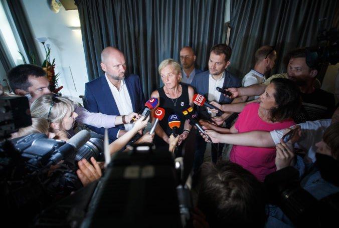 Matovič dúfa, že spoločné stretnutia opozičných strán položia základ úspešnej koalície
