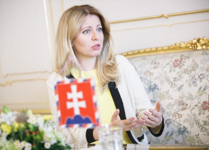 Prezidentka Čaputová si praje budúceho premiéra, ktorý by viedol Slovensko proeurópskym smerom