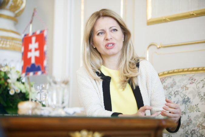 Ústava by sa nemala dať tak ľahko meniť, prezidentka Čaputová by chcela začať diskusiu o revízii