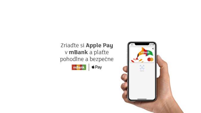 Klienti mBank zaplatili prostredníctvom Apple Pay za prvých päť dní viac ako milión eur