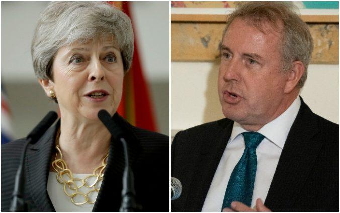 Mayová podporila britského veľvyslanca, ktorý označil Trumpovu administratívu za nekompetentnú