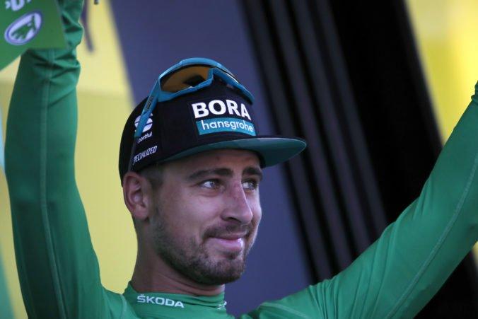 Video: Sagan mal dilemu v závere 4. etapy Tour de France a pochválil aj vláčik Deceuninck Quick-Step