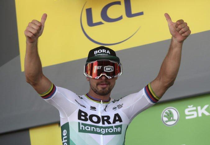 Vydal som zo seba maximum, hovorí Sagan po víťazstve v 5. etape Tour de France 2019