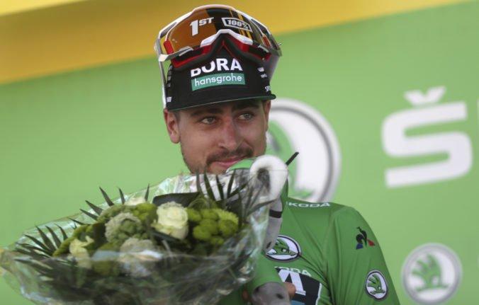Je to prvýkrát, čo sa takto odviazal, okomentoval Sagan radosť jeho otca po 5. etape Tour de France 2019