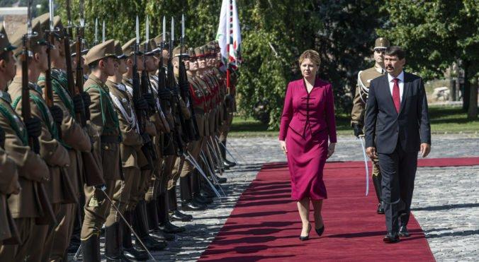 Prezidentka Čaputová sa ohradila proti rečiam maďarských médií o tom, že je agentkou Sorosa