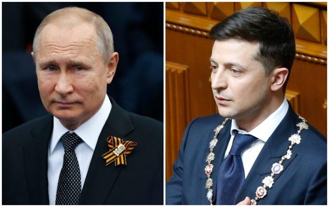 Putin je ochotný rokovať so Zelenským o ukončení konfliktu na východe Ukrajiny