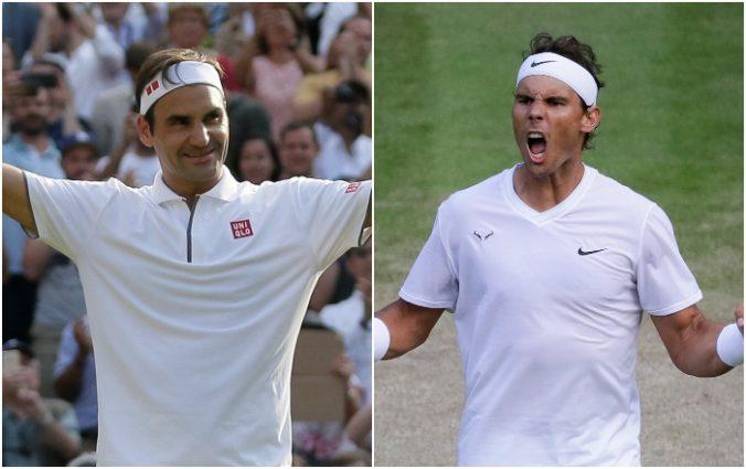 """V semifinále Wimbledonu sa stretne """"veľká trojka"""", Nadal je zo súboja s Federerom nadšený"""