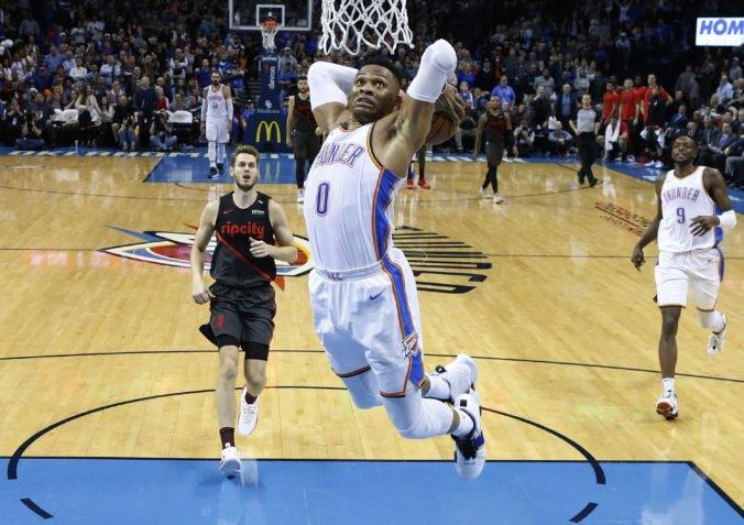 """Hviezdny Westbrook sa stal súčasťou megavýmeny v NBA, """"triple double"""" kráľ opúšťa Oklahomu"""