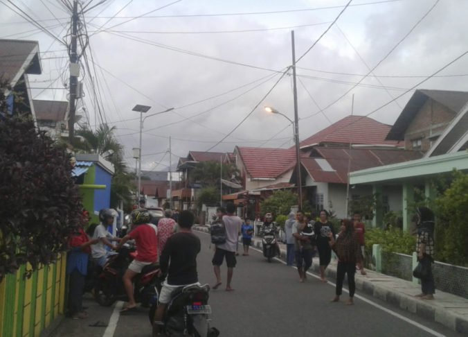 Východnú provinciu Indonézie zasiahlo silné zemetrasenie, ktoré vyvolalo paniku
