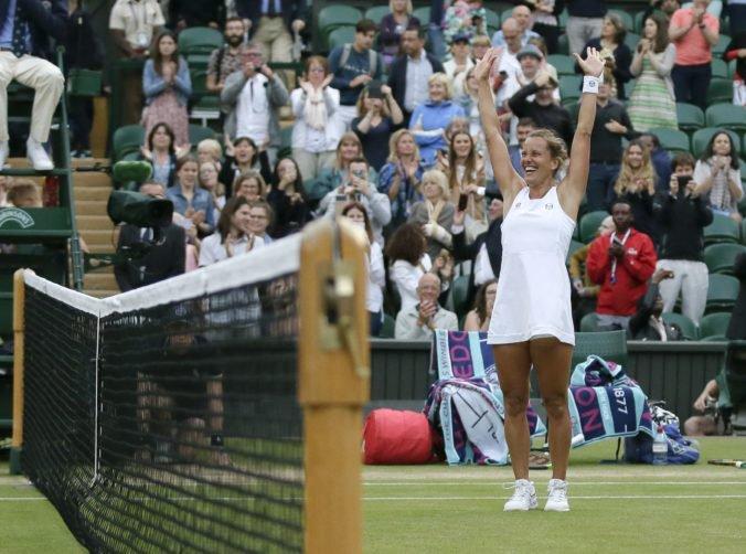 Video: Strýcová dosiahla na Wimbledone najlepšie výsledky kariéry a nadviazala na úspechy krajaniek