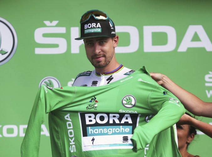 Sagan zvyšuje svoj náskok na Tour de France, v boji o zelený dres prišiel o najvážnejšieho súpera