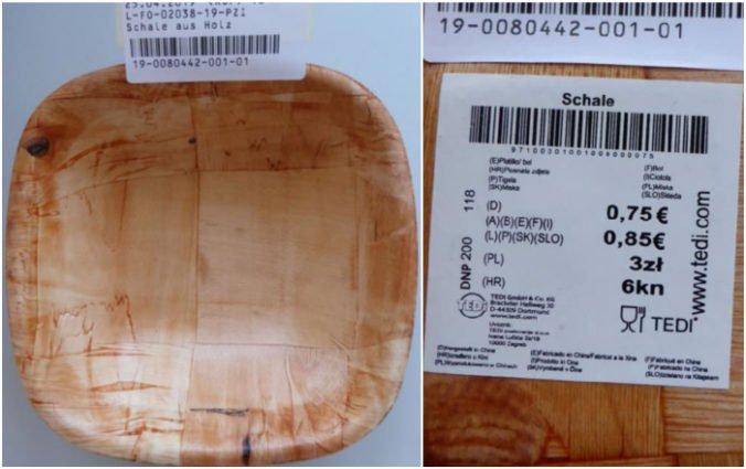 Foto: Upozorňujú na nebezpečnú misku z Číny, do potravín môže prejsť formaldehyd a melamín