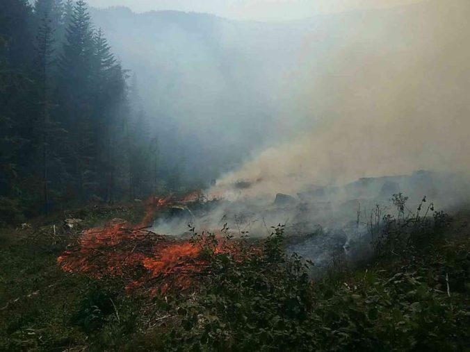 Les na Orave postihol požiar, zasiahnuť museli profesionáli aj dobrovoľníci z viacerých staníc
