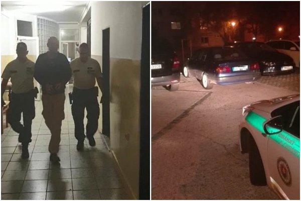 Opitý šofér bez vodičáku odmietol zastaviť a autom to namieril rovno na policajtov